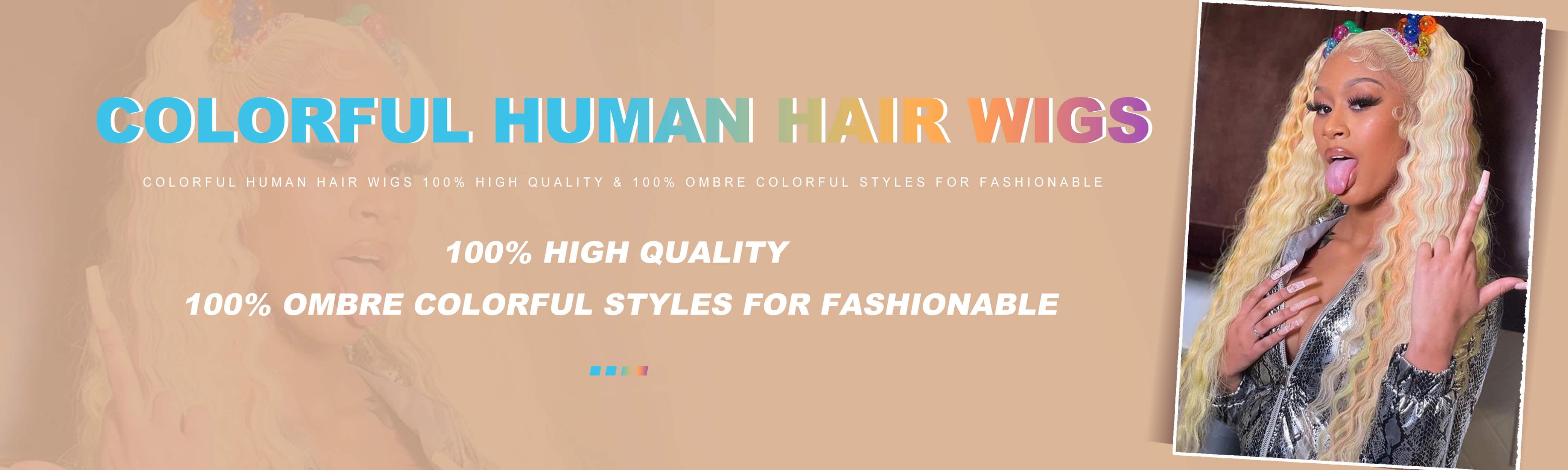 Dolago Colorful Wigs