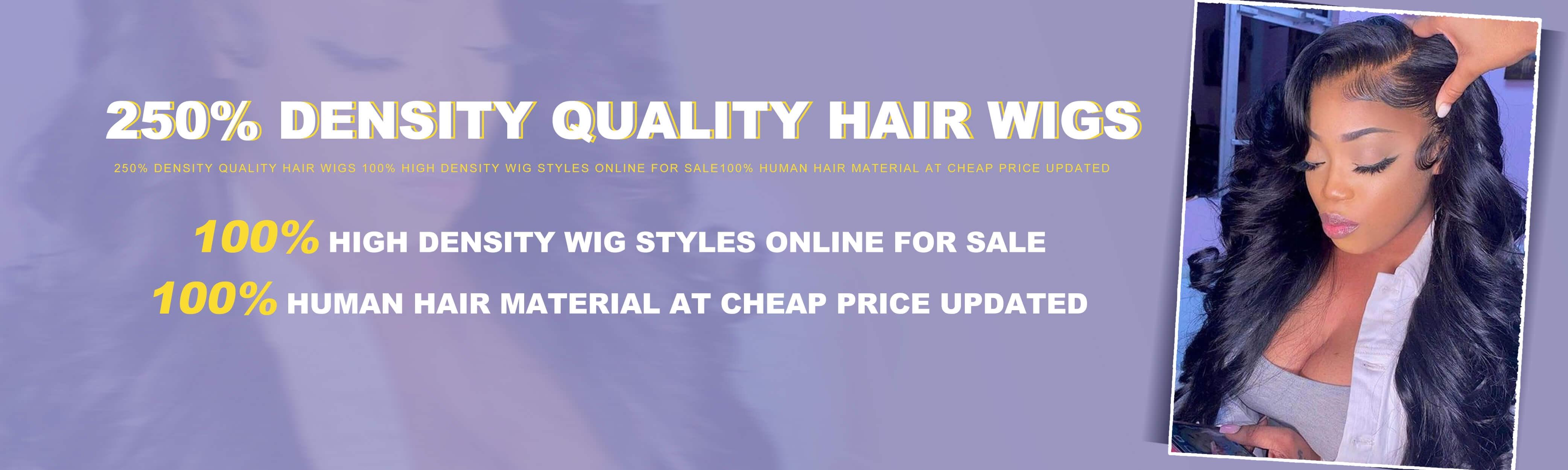 250% Density Wigs