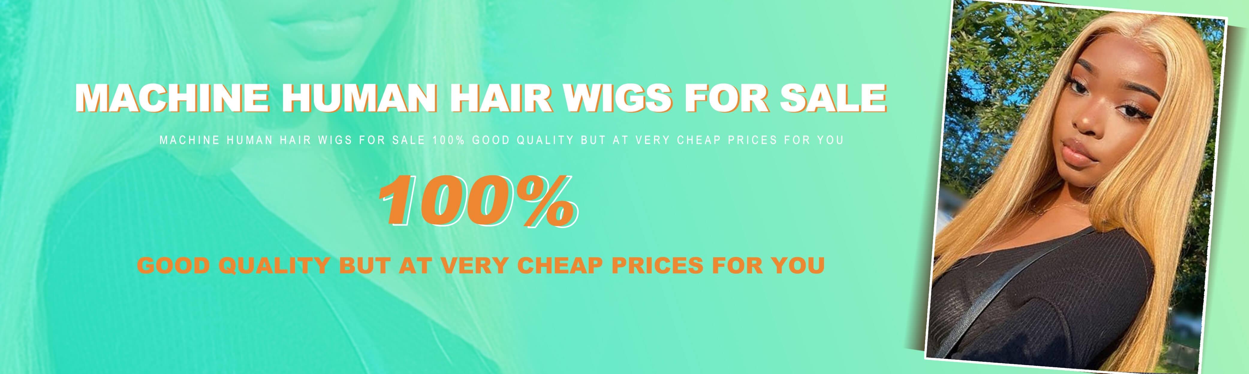 Full Machine Wigs