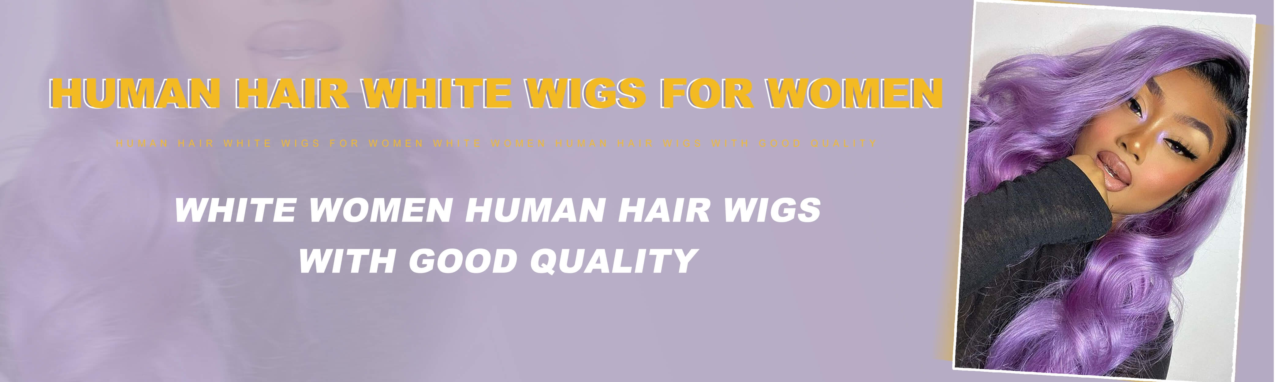 Wigs For White