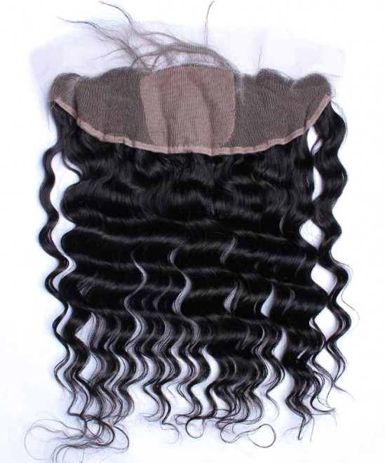 Dolago Loose Wave 13x4 Lace Frontal Closure With 4x4 Silk Base