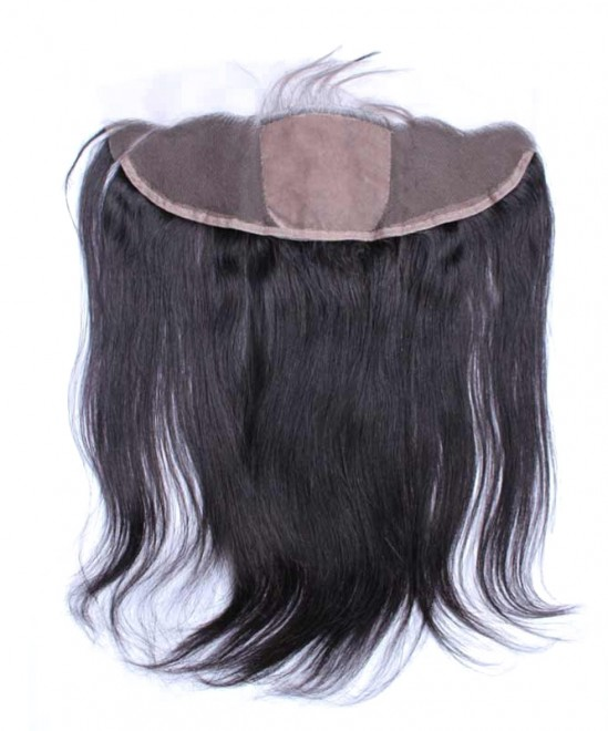 Dolago Brazilian Virgin Hair Straight 13x4 Lace Frontal Closure 4x4 Silk Base