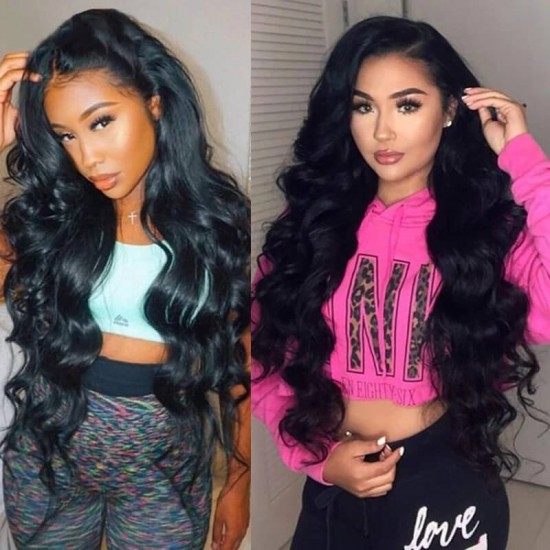 Dolago Body Wave Brazilian Hair Bundles For Sale 3 Pieces Mink Human Virgin Hair Weaves 10-30 Inches Mink Wholesale Hair VendorsBrazilian Body Wave Virgin Human Hair Weave 3 Bundles Unprocessed Human Hair Extensions