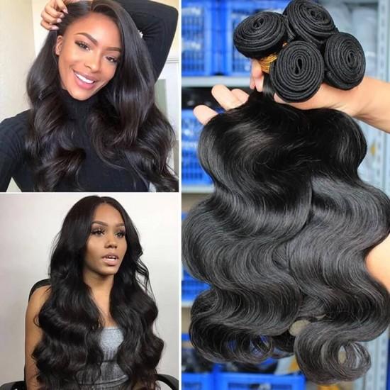 Dolago Dolago Brazilian Virgin Hair Bundles For Sale 10-30 inches Brazilian Body Wave Hair 3 Pieces Human Virgin Hair Weaves From Wholesale Hair VendorsVirgin Hair Body Wave 3Pcs 100% Unprocessed Human Hair Weave