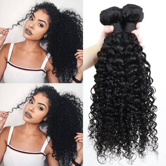 Dolago Mink Human Virgin Hair Extensions Brazilian Deep Wave Hair Bundles 10-30 Inches Brazilian Human Hair Weave Bundles Sale