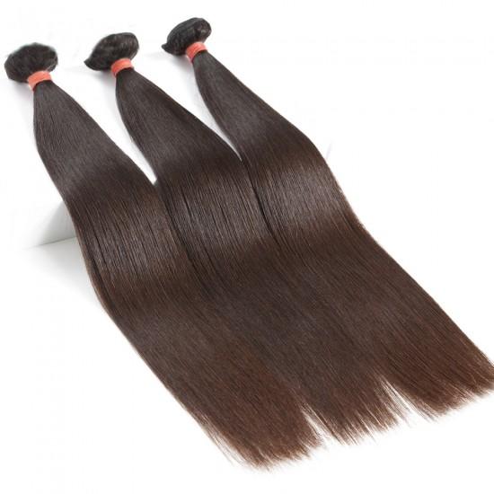 Dolago Malaysian Virgin Hair Natural Color Straight Hair 100% Human Hair Bundles