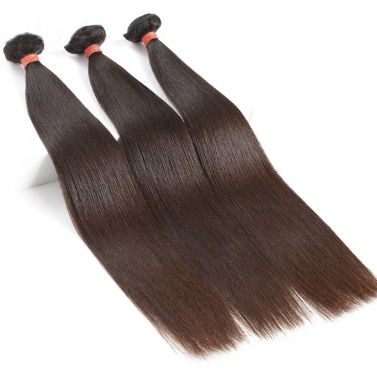 Dolago Malaysian Virgin Hair Natural Color Straight Hair 100% Human Hair Bundles