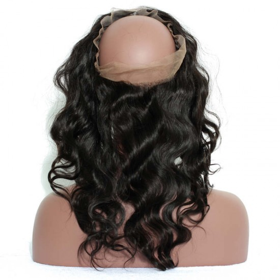 Dolago Pre Plucked 360 Lace Frontal Closure Body Wave With Baby Hair Free Part