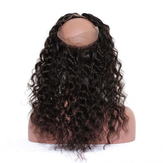 Dolago Loose Wave Frontal Closure Pre Plucked With Baby Hair
