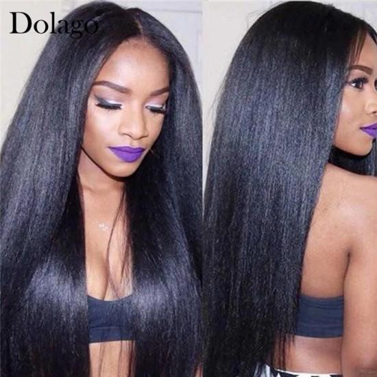 Dolago Mink Wholesale Hair Bundles Straight Wave Brazilian Human Virgin Hair Weaves 3Pics Straight Human Hair Extensions Natural Color Brazilian Bundles Sales