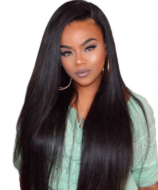 Straight 5X5 HD Lace Closure Human Hair Wigs For Women