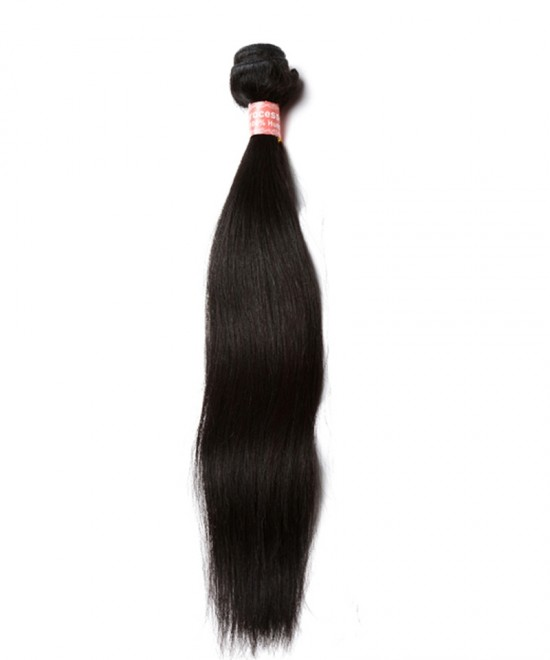Dolago 100% Brazilian Human Virgin Hair Weave Straight Hair 1 Bundle
