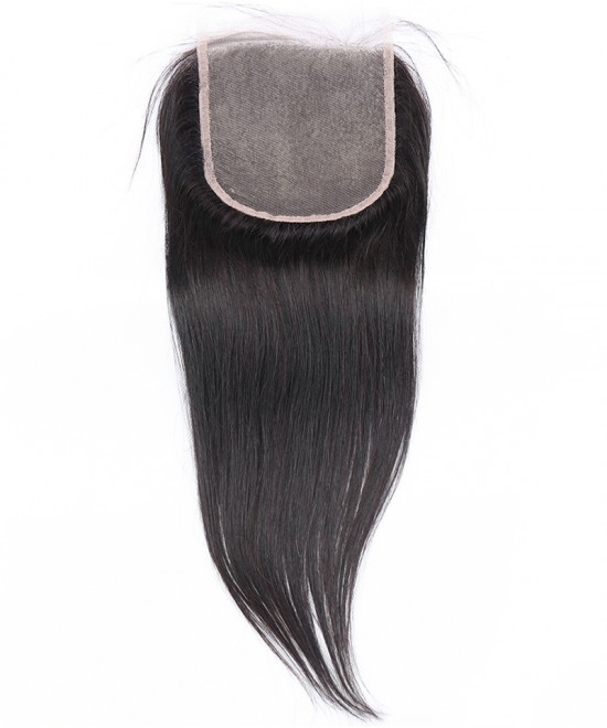 Dolago Brazilian Virgin Hair Straight Human Hair Lace Closure 5x5 Lace Size