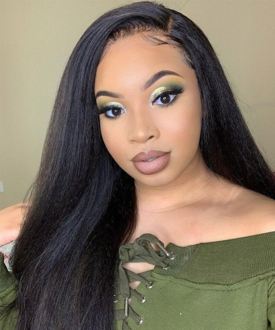 Straight T Part human hair lace front wigs for sale now