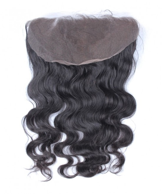 Dolago Brazilian Body Wave Virgin Hair 13x6 Lace Frontal Closure Bleached Knots
