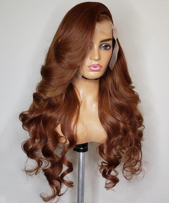 Quality Colored Body Wave Lace Front Human Wigs For Sale