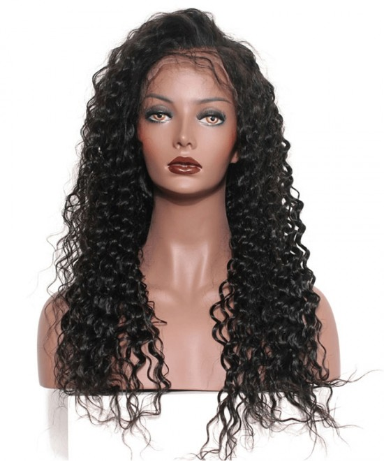 Dolago Hair Wigs Deep Wave 250% High Density Lace Front Wigs For Black Women Virgin Brazilian Human Hair Wigs Pre Plucked With Baby Hair