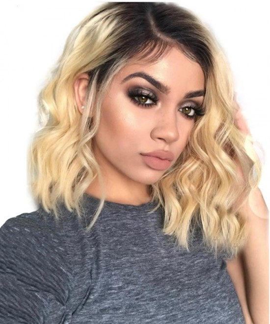 613 Blonde Lace Front Human Hair Wig For Black Women