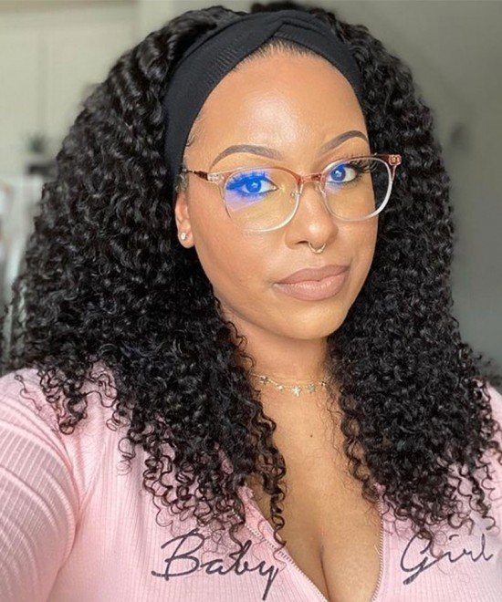 Flash Hair Wigs Kinky Curly Lace Front Human Hair Wigs