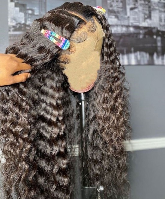 Loose Deep Wave Human Hair Wigs For Women For Sale