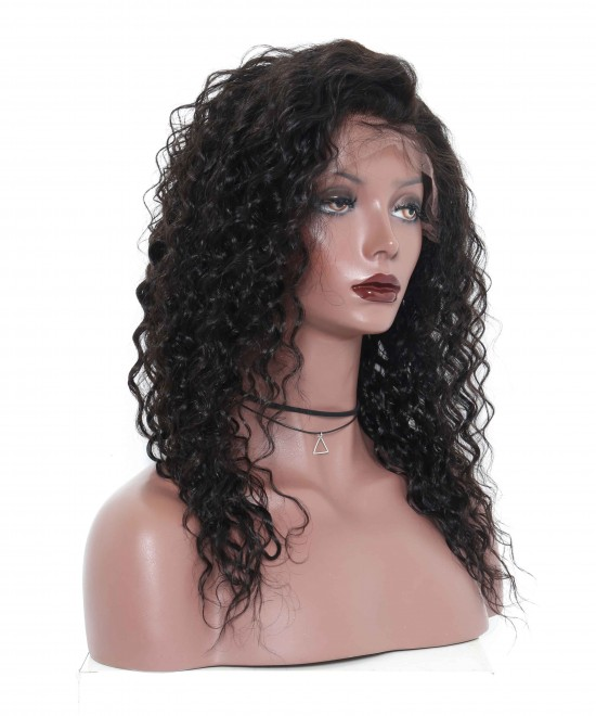 Loose Curly Wave Full Lace Human Hair Wigs