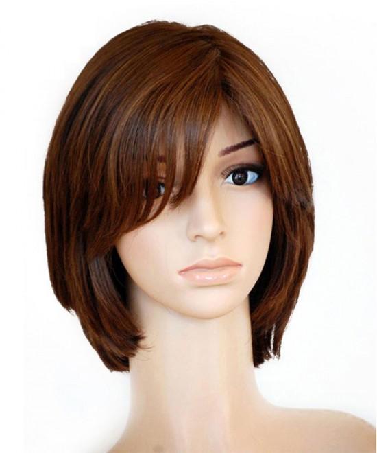 Dolago 9A Jewish Wig Straight Silk Top Kosher Wig