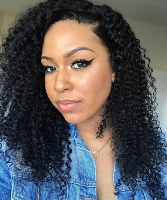 Dolago Kinky Curly I Tip Hair Extension For Women Online Sale