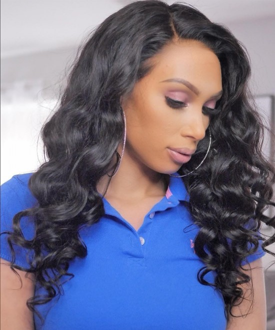 Dolago Loose Wave 360 Lace Frontal Wig Pre Plucked With Baby Hair Brazilian Lace Front Human Hair Wigs 180% Density