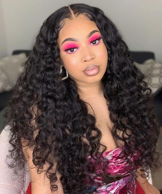 Best Quality Closure wig human hair loose wave For Sale