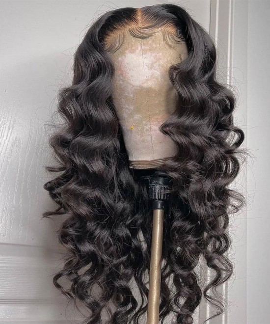 Buy Hd Swiss Lace Wigs Loose Wave