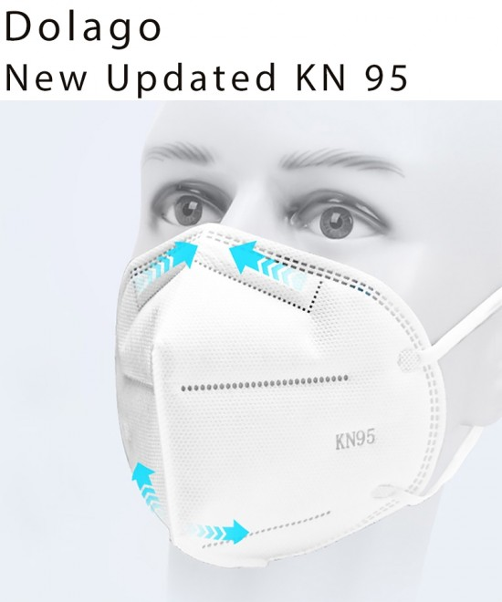 Dolago KN95 Anti-Virus Masks Help You To Protect Your Family And Yourself Under The Condition of Corona Virus Anti-Dust Surgical Medical Masks Fast And Free Shipping