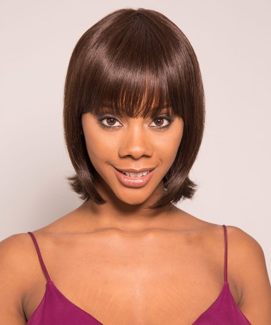 Dolago Pixie Wigs Color 2 None Lace Short Human Hair Pixie Wigs The Sale Style Like Picture Free Shipping