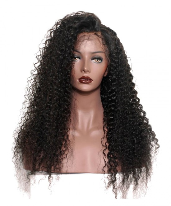 Dolago Deep Curly Pre Plucked Full Lace Wigs 150% Density