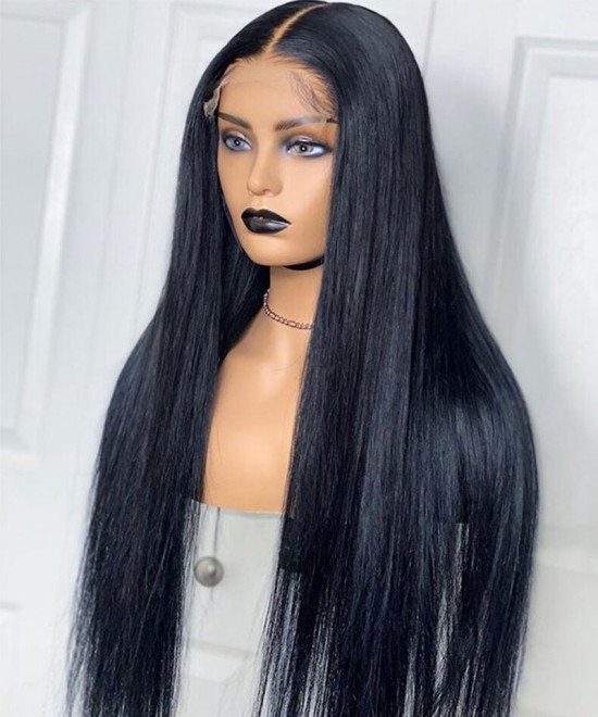 Hottest straight hd lace wigs 250% Density
