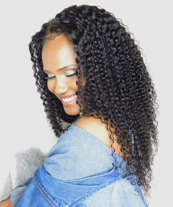 Dolago Hair Wigs Kinky Curly 250% High Density 13x6 Lace Front Wigs For Black Women Virgin Brazilian Human Hair Wigs Pre Plucked With Baby Hair