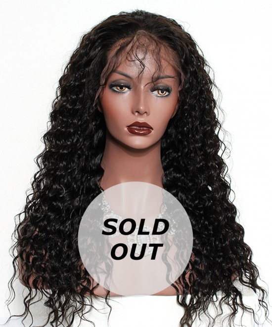 Dolago 180% Density Loose Wave 360 Lace Frontal Wig Pre Plucked With Baby Hair 16inch