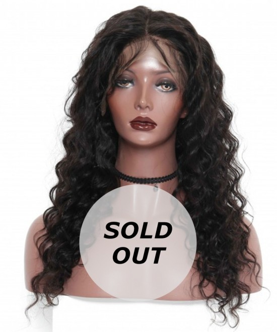 Dolago Deep Wave Lace Front Wigs 130% Density 24inch