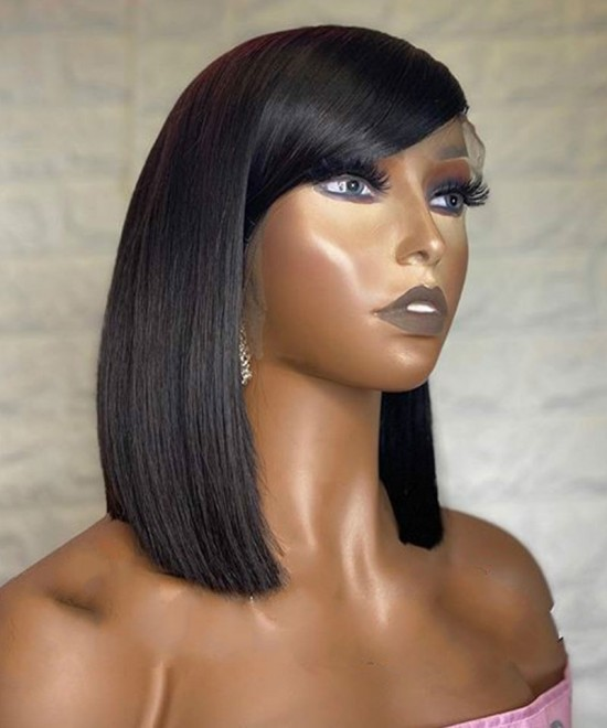 Straight Full Lace Wigs With Baby Hair Online Sale