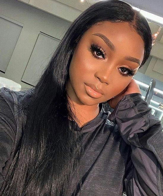 undetectable transparent lace wig with invisible knot for sale