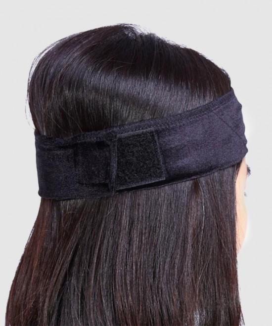 Dolago Velvet Fabric Hair Band Flexible Velvet Wig Grip Scarf Head Hair Band