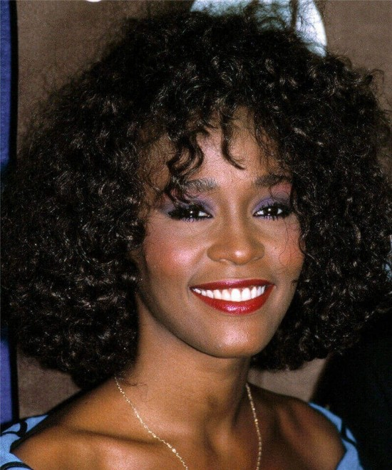 Whitney Houston Famous Star Same Style Dolago 5X5 HD Lace Closure Human Hair Wigs For Black Women 150% Density Luxury Brazilian Mink Hair Lace Wigs Body Wave Glueless Lace Closure Wigs Natural Looking