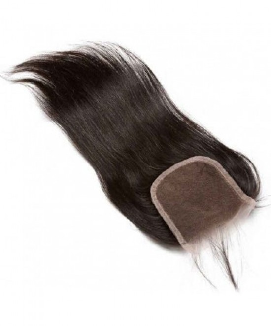 Dolago Brazilian Virgin Hair Silky Straight Lace Closure 4x4