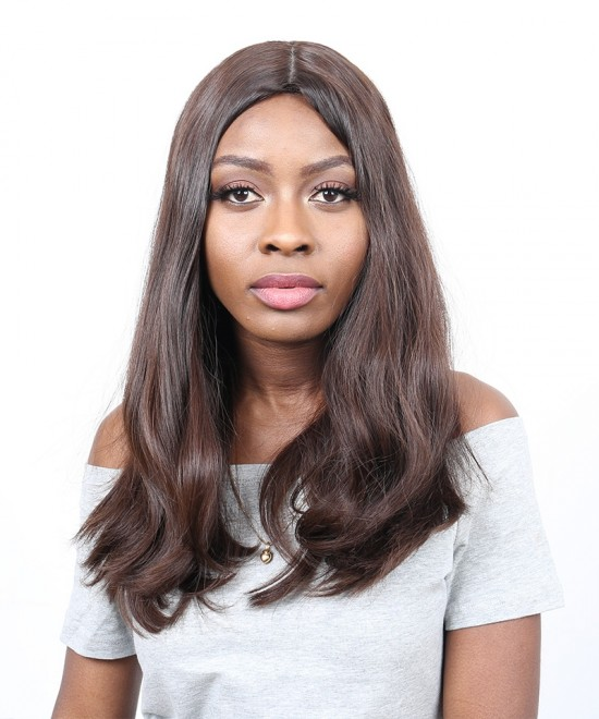 Dolago Full Lace Front Human Hair Wigs Jewish Wig Plucked Pre European Virgin Hair Straight Hair