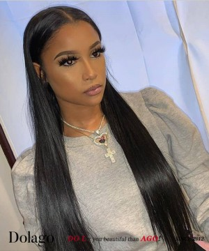 undetectable transparent lace wig with invisible knot