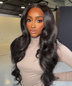 Lace Closure Wig Human Hair Brazilian Body Wave