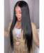 Dolago Hair Wigs Undetected 360 Lace Frontal Wig Kinky Curly Pre Plucked Natural Hairline Invisible Lace Wigs Human Hair Wigs For Black Women