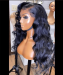quality invisible lace front wigs for women body wave for sale