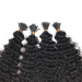 Dolago Kinky Curly I Tip Hair Extension Keratin Fusion Hair Extensions Micro Ring Cuticles Nail 100 Pieces For One Set And Two Set Will Make Full Heads