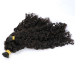Brazilian 3B 3C Kinky Curly I Tip Hair Extension For Sale Now