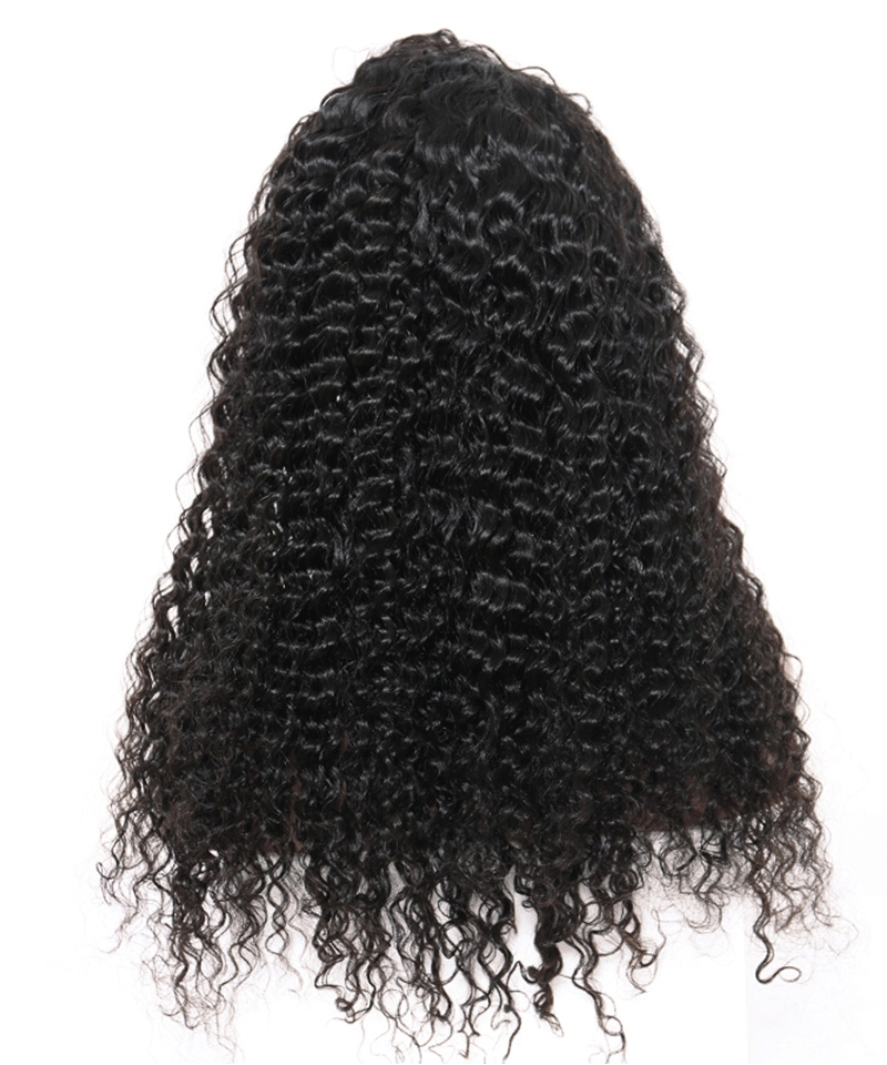 Dolago Hair Wig Deep Curly Lace Front Human Virgin Hair Wigs 250% Density Brazilian Lace Front Wig